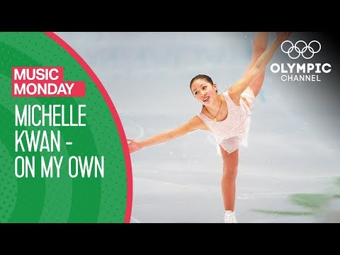 Michelle Kwan Figure Skating to On My Own Nagano 1998 Olympic Games Music Monday