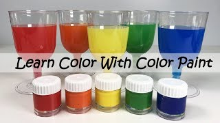 Learn Colors with Color Paint - Mixing Colors Using Blender