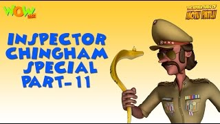 Inspector Chingam Special - Part 11 - Motu Patlu Compilation As seen on Nickelodeon