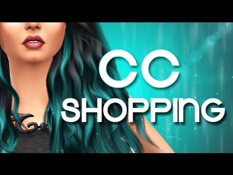The Sims 4   Let's Go CC SHOPPING!