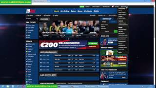 HOW TO VERIFY MY 10BET BETTING ACCOUNT
