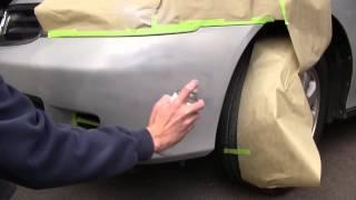 Fix Plastic Bumper Damage:  Complete Kit