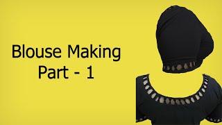 Download Simple Designer Blouse: 1  Marking & Cutting (English Subtitle) 3Gp Mp4