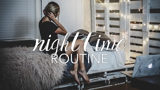 Night Routine + All Natural Skincare Products