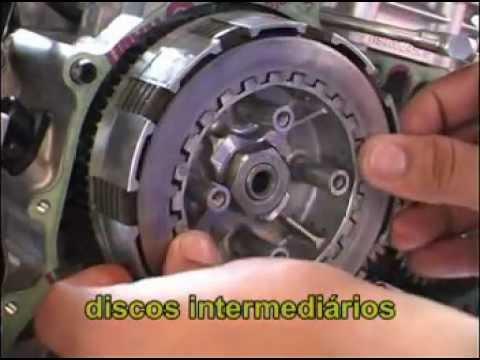 Motor Fazer Embreagem e pontos de sincronismo