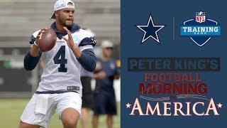 Dallas Cowboys Training Camp 2018: Dak Prescott on embracing leadership role I NFL I NBC Sports