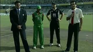 Bangladesh Cricket: BD vs NZ ODI 4, Oct. 14, 2010 - 1st Innings (Part 1/1)