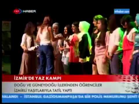 İzmir'de Yaz Kampı   Gediz Üniversitesi   TRT HABER