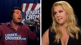 #SJW Amy Schumer Supports 'Rape Culture'   Louder With Crowder