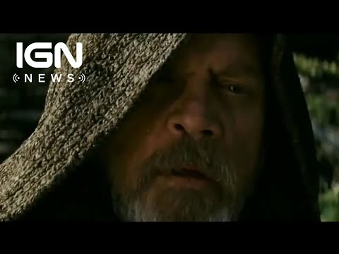 New Last Jedi Trailer Previews Luke/Kylo Relationship - IGN News