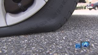 Virginia Beach residents wake up to find slashed tires
