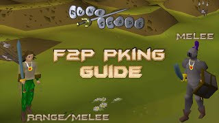 Runescape 2007 - F2P PKing Guide (Range/Melee & Melee)