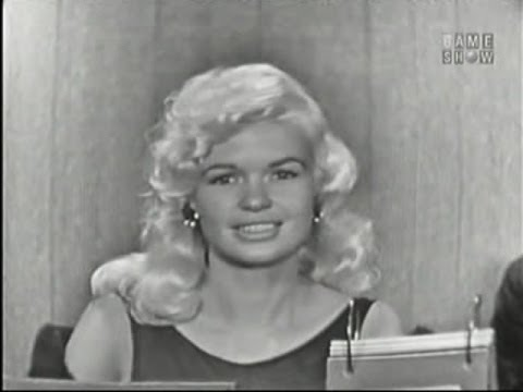 What s My Line Jayne Mansfield; Don Ameche panel Aug 4 1957