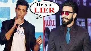 Ranveer Singh PR Team CHEAP TACTICS Against Hrithik Roshan