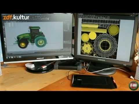 LS13 ZDF Beitrag zum Landwirtschafts Simulator 2013 Interview 25.06.2012 HD