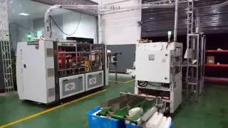 Newtop Paper Cup Machine + paper feeding+ Detecting System+ package machine