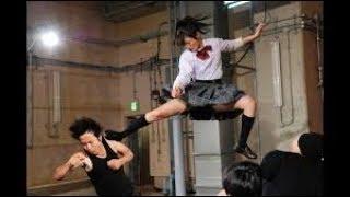 اقوى مقاطع الاكشن من فيلم فتاة الكاراتية   karate girl l 8 minute condensed version