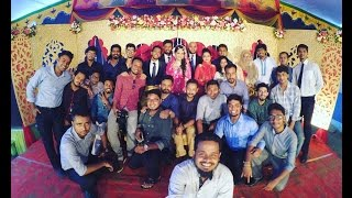 Oalid & Afroz wedding ceremony interview by Faysal Khan