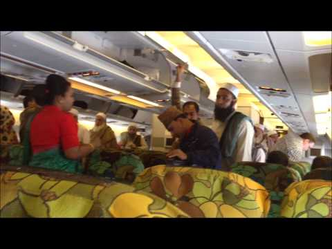 Biman Bangladesh Airlines (inside airplane)
