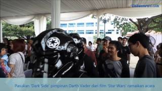Gubernur Ahok Selfie Bersama Pasukan Dark Side Pimpinan Darth Vader