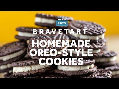 Xxx Mp4 How To Make Homemade Oreo Style Cookies 3gp Sex