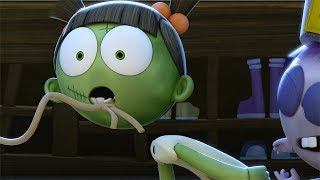 Funny Animated Cartoon | Spookiz | Head Came Off  | 스푸키즈 | Cartoon for Children