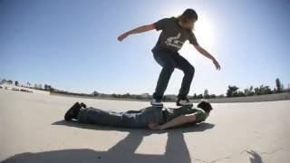 Human Skateboard by PES (OFFICIAL Remastered HD Version)