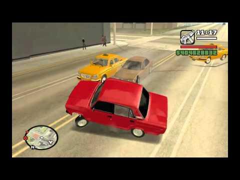 Vaz 2107 Gta San Andreas  Gameplay