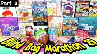 Surprise Blind Bag Marathon 29 - Part3 - Pokemon XY, Cartoon Network, Disney, Rilakkuma & MORE!