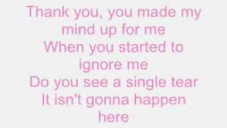 Hilary Duff - So Yesterday (With lyrics on screen!)