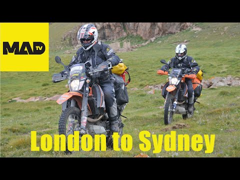 London to Sydney Motorcycle Adventure full length