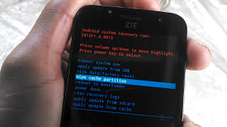 Zte speed Factory reset - recovery mode