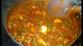 मटर मशरूम पनीर मसाला बनाने की विधि, Mushroom Mutter Paneer Masala Curry