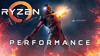 AMD Ryzen Performance in Mass Effect Andromeda
