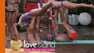 Yoga-Challenge: Die Islander kommen ganz schön ins Schwitzen | Love Island - Staffel 2