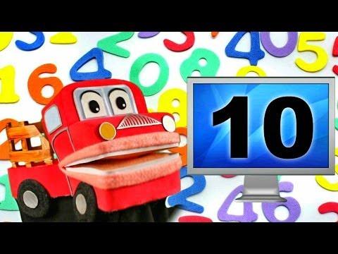 Barney el camion Los Numeros del 1 al 10 Canciones Infantiles Educativas Video para niños
