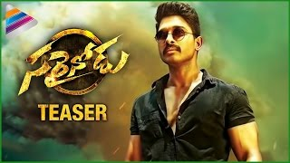 Sarainodu Movie Teaser | Allu Arjun | Rakul Preet | Boyapati Srinu | Sarraidnodu | Fan Made