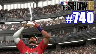 2032 HOME RUN DERBY! | MLB The Show 18 | Road to the Show #740