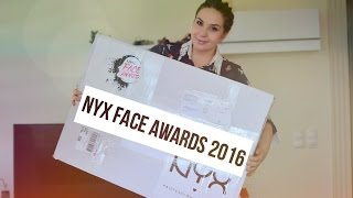 NYX Face Awards Türkiye TOP 15  Kutu Açılımı / Unboxing 2016