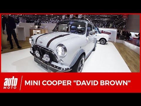Mini Cooper reconstruites David Brown Automotive
