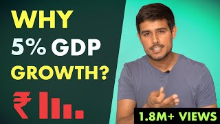 Reality of Indian Economy   GDP Growth Analysis by Dhruv Rathee