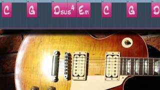 E minor Sad Song Guitar Backing Track