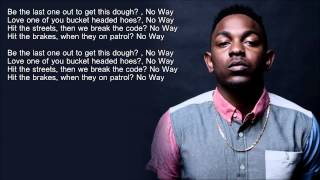 Kendrick Lamar - Money Trees (HD Lyrics)