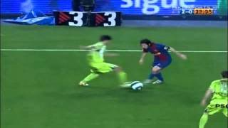 Lionel Messi's solo goal vs Getafe (Eng. commentary)