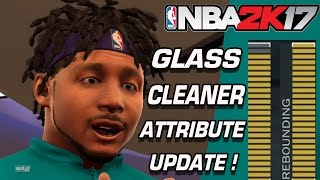 NBA 2K17 Glass Cleaner Badge Progress + Attribute Update NBA 2K17 MyPark