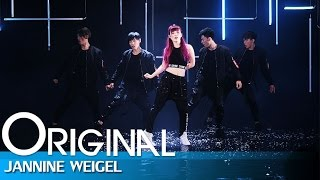 Jannine Weigel (พลอยชมพู) - Finish Line (Dance Version)
