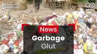 Garbage Piles Up in East Delhi