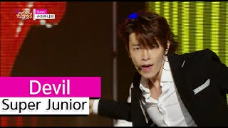 [HOT] Super Junior - Devil, 슈퍼주니어 - 데빌, Show Music core 20150808