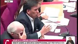 Meléndez y Mulder protagonizan discusión en el debate sobre Pedro Chávarry