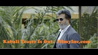 Kabali Movie Tamil Teaser Rajinikanth I Radhika Apte